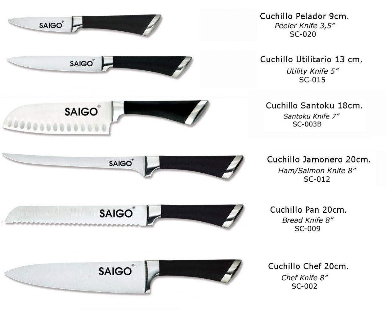 Cuchillos de cocina cuchillos cocina combo for Cuchillos cocina